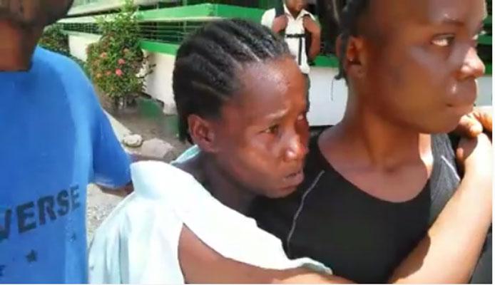HAITI: Une femme enceinte souffrant de fortes douleurs n'a pas pu obtenir des soins á l'hôpital Notre  Dame de Petit-Goâve  ( video )