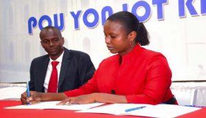 Haiti:  L'épouse du candidat à la présidence du PHTK Jovenel Moïse s'implique