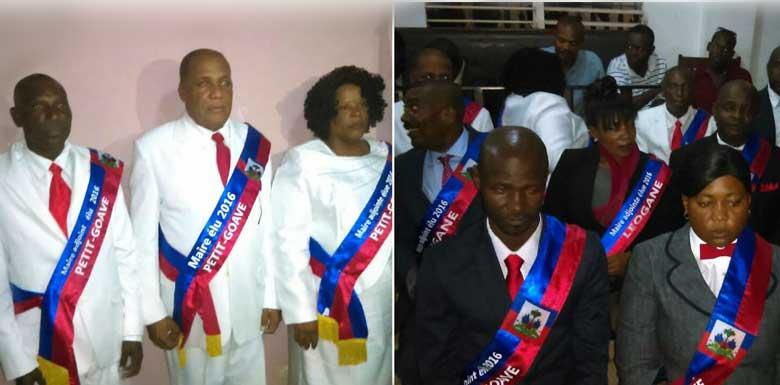 HAITI: Prestation de Serment des nouveaux maires élus de Petit-Goâve, Grand-Goâve et de Léogâne