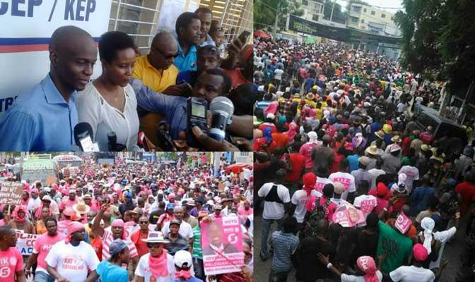 HAITI: Jovenel Moïse confirme sa participation aux prochaines élections présidentielles