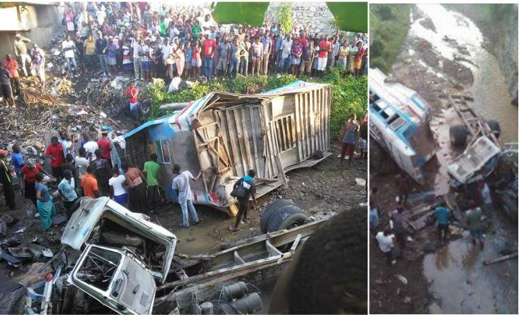 HAITI: Grave accident sur le pont-caïman de Petit-Goâve