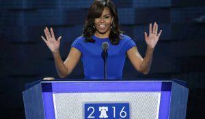 Monde: Michelle Obama livre un vibrant plaidoyer en faveur d'Hillary Clinton