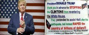 Monde: Donald Trump souhaite rencontrer des Américains d'origine haïtienne