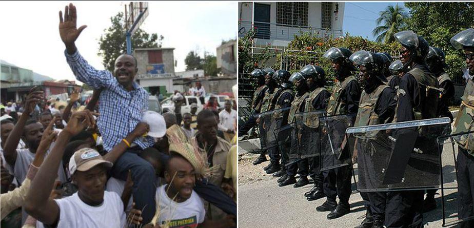 HAITI: Moïse Jean-Charles promet une vraie armée de 3,000 hommes pour Haïti