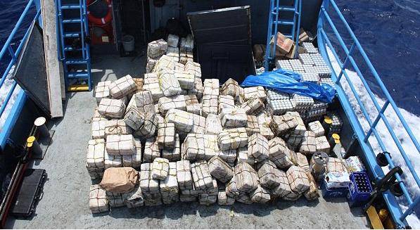 Haïti est considéré comme un pays de transit de la drogue vers les Etats Unis