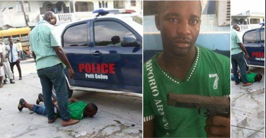 HAITI: Un puissant membre de gang arrêté