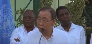 """Monde: Ban Ki-moon """"déçu"""" par la faible mobilisation internationale en Haïti"""