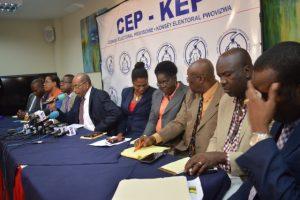 Haiti: Le CEP donne «10 jours» au gouvernement pour réparer les centres de vote endommagés