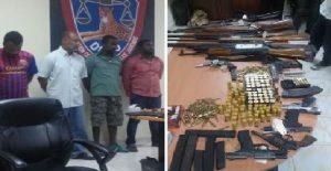 Haiti: Un réseau de gang démantelé à Delmas 75 par la PNH
