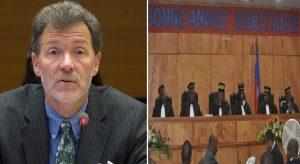 Haiti: L'ambassadeur Peter F. Mulrean aux juges de la Cour de Cassation «Personne n'a à rajouter à l'instabilité»