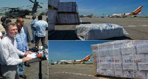Haiti: Plus de 480 tonnes de secours pour aider 100,000 personnes des régions affectées