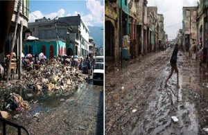 Haiti: Le centre-ville de Port-au-Prince abandonné comme un lieu dévasté par la guerre
