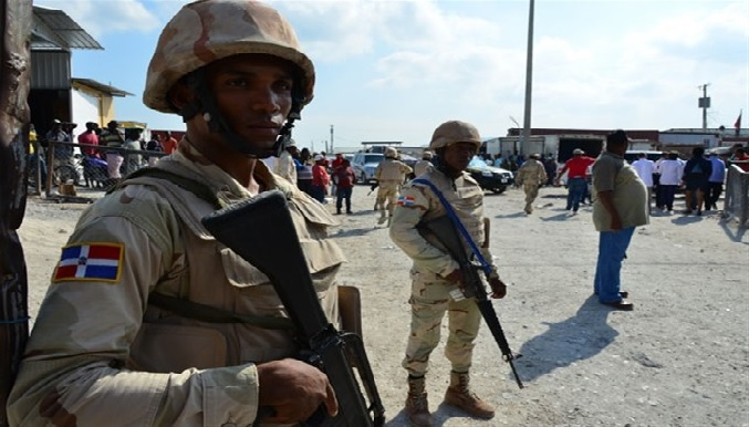 To many Haitians the presence of the Dominican military in Haiti was an insult and a slap in a face