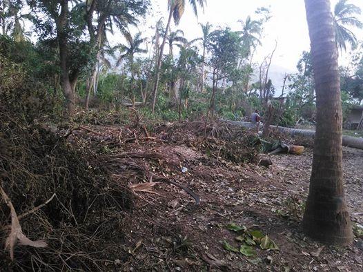 HAITI: bilan partiel des maisons détruites à Petit-Goâve par Matthew