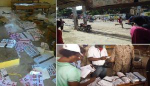 Haiti: Des matériels électoraux en faveur de Jovenel Moise retrouvés dans une école