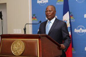 Haiti: Jocelerme Privert «Les résultats ne doivent compromettre la stabilité du pays»