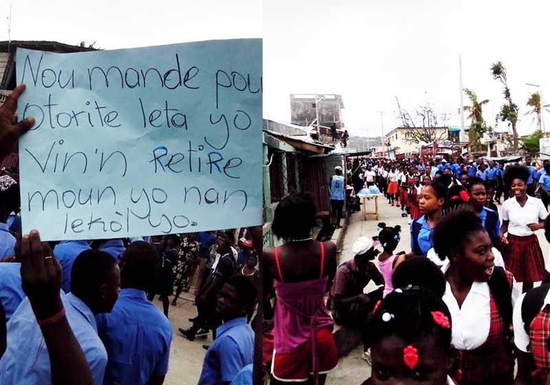 Les Lycéens de Jérémie lancent un ultimatum au Ministère de l'Education Nationale