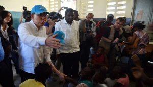 Monde: Le secrétaire général de l'ONU Ban Ki-moon présente des excuses «au peuple haïtien»