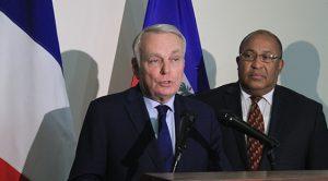 Haiti: Jean Marc Ayrault «Le développement ne peut être durable que si nous menons ensemble des projets d'avenir»