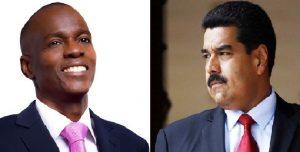 Monde: Le Président Nicolas Maduro au nom du Venezuela félicite Jovenel Moïse