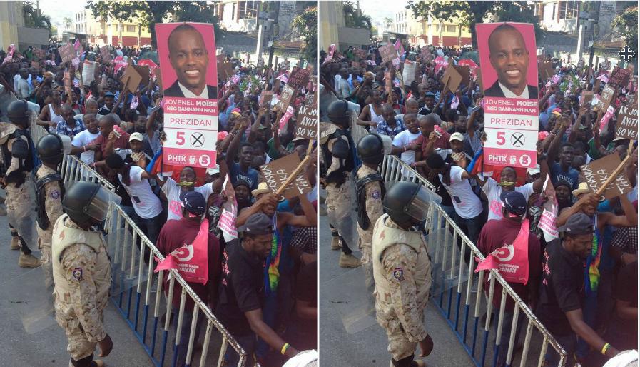 """HAITI: Manifestation des partisans de """"Nèg Bannan'n lan"""" ce vendredi à Port-au-Prince"""