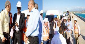 Haiti: Jovenel Moïse visite des centrales électriques en République Dominicaine