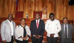 Haiti: Dieudonne Luma Étienne, première secrétaire du nouveau Bureau du Sénat