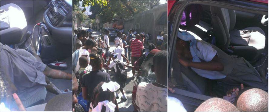 HAITI: Une jeune écolière heurtée par une motocyclette ce mardi à Fontamara 43