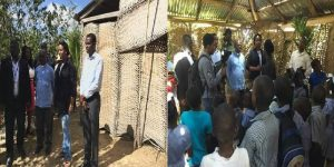 Haiti: La Première Dame Martine Moïse visite la 2e section communale de Chansolme