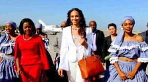Haiti: Raquel Pélissier, 1ère dauphine de Miss Universe 2017, accueillie chaleureusement