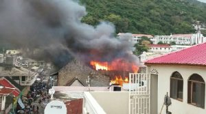 Haiti: Violent incendie au centre ville du Cap-Haitien