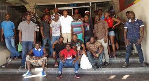 Monde: Les migrants haïtiens et africains demandent au gouvernement mexicain de rester
