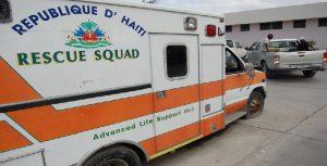Haiti: Le Ministère de la santé publique et de la population condamne les attaques perpétrées contre des ambulances