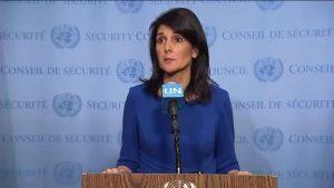 Monde: Nikki R. Haley critique le comportement des casques bleus impliqués dans des viols