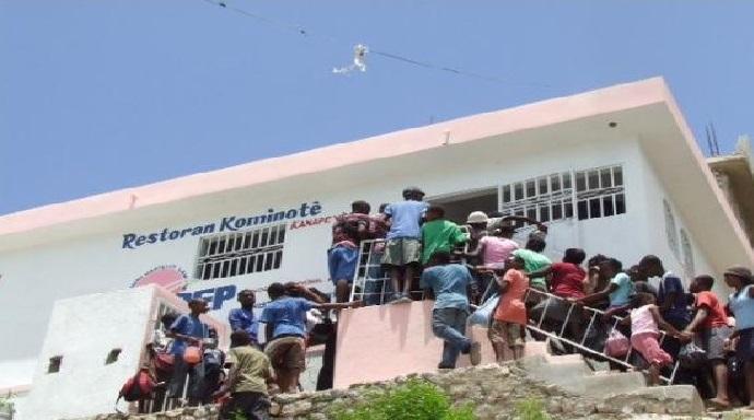 Haïti: Un individu impliqué dans le détournement des provisions alimentaires d'un restaurant communautaire arrêté