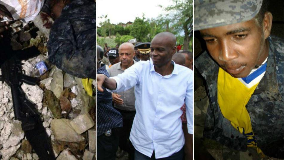 HAITI: Un homme se déguise en CAT Team et déjoue la sécurité du Palais National ce samedi