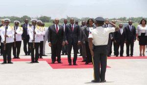 Haiti: Retour du Président de la République après son voyage en Equateur et au Mexique