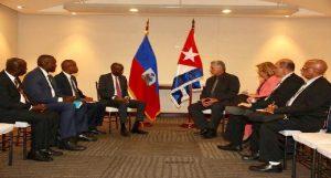 Monde: Rencontre bilatérale de haut niveau entre Haiti et Cuba