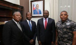 Haiti: Installation de Ronsard St Cyr comme nouveau Secrétaire d'Etat à la Sécurité publique