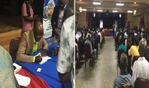 Monde: La vente-signature de l'ouvrage du Dr Jean Fils-Aimé, une réussite