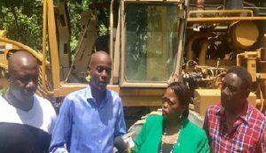 Haiti: Lancement des travaux de réhabilitation du tronçon de route Camp Coq – Vaudreuil