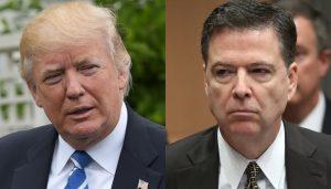 Monde: Le Président Donald Trump accuse l'ex-chef du FBI James Comey de «lâcheté»