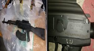 Monde: Un fusil d'assaut Galil de la PNH dans une fusillade en Jamaïque