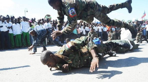 Haiti: Début de formation pour des jeunes aspirants soldats  dès janvier 2019