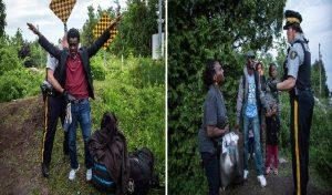 Monde: Des Haitiens traversent la frontière canadienne pour demander l'asile au Canada