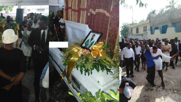 Bouleversantes obsèques pour l'étudiant David Douglas ce Jeudi