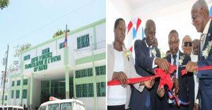 Haiti: Inauguration d'une Unité de dialyse médicalisée à l'OFATMA de l'Hôpital Universitaire Justinien