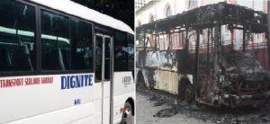 Haïti: Un autobus Dignité incendié à Grande Rivière du Nord