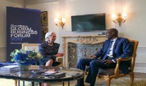 Monde: Rencontre entre le Président Jovenel Moïse et la Directrice Générale du Fonds Monétaire International