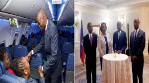 Monde: Cocktail de bienvenue pour le président Jovenel Moise et sa délégation à New York